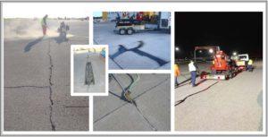 Interventi di manutenzione preventiva e curativa su pavimentazioni flessibili e rigide