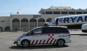 Fig.2 Rilievi di Regolarità IRI all'aeroporto di Malta